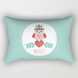 HIPSTER OWLET Rectangular Pillow