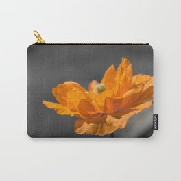 Spanish Poppy Carry-All Pouch