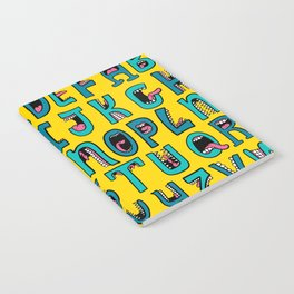 Loud Mouth Alphabet Notebook