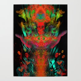 Atomic Psychedelia Poster