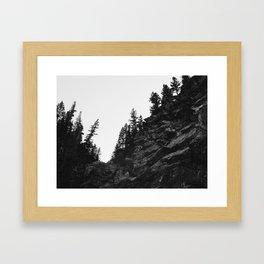 Edged Rock Framed Art Print