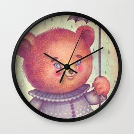 Mr. Bear Wall Clock
