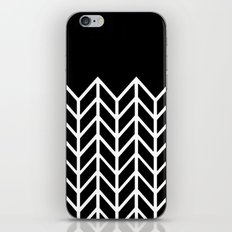 BLACK LACE CHEVRON iPhone & iPod Skin