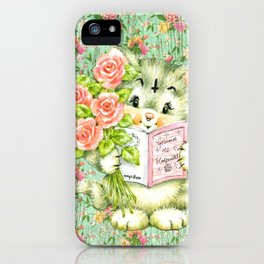 Hedgewitch cat handuct collage iPhone Case