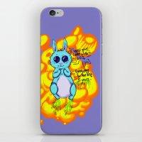 Evil Little Bunny iPhone Skin