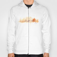 Watercolor landscape illustration_Rome - Colosseum Hoody