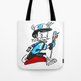 Blue Jay Laxcot Tote Bag