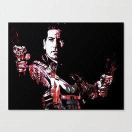 Jon Bernthal's Punisher Portrait pop Canvas Print