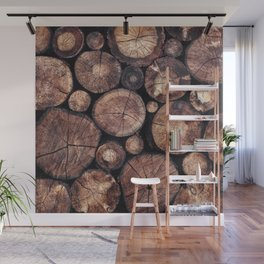The Wood Holds Many Spirits Wall Mural
