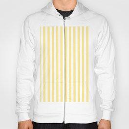 Modern geometrical baby yellow white stripes pattern Hoody