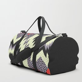 Ethnic fun with dots Duffle Bag