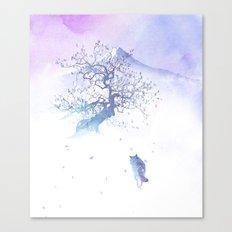 The long way to Fuji Canvas Print