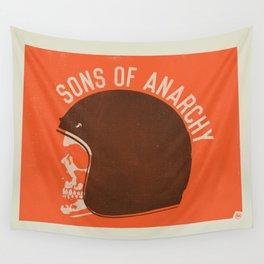 Sons of Anarchy Skull Helmet Wall Tapestry