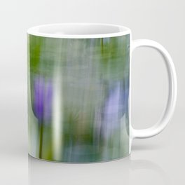 Tropical Impressionism (Purple Water Lily) Coffee Mug