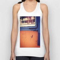 puerto rico Tank Tops featuring Lizard in Puerto Rico by ANoelleJay
