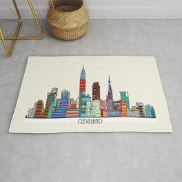 Cleveland city  Rug