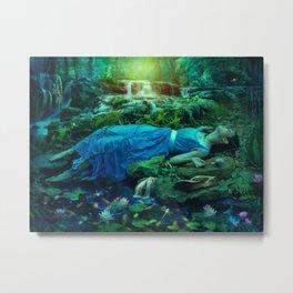 Opheias Dream Metal Print