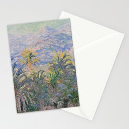 Monet - Palm Trees at Bordighera Stationery Cards