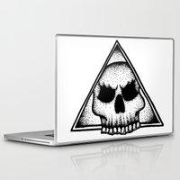 illuminati Laptop & iPad Skins featuring Skull Illuminati  by Sam Winters
