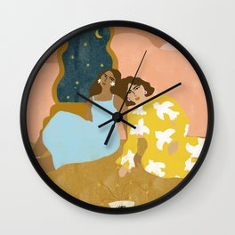 Crystal Visions Wall Clock