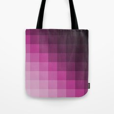 Pixel Gradient Tote Bag