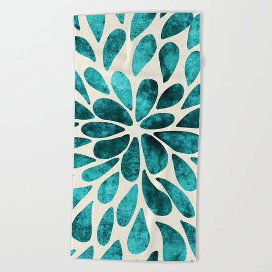 Petal Burst #20 Beach Towel