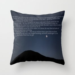 CALM. Throw Pillow