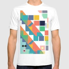 Gumby Does LSD Mens Fitted Tee White MEDIUM