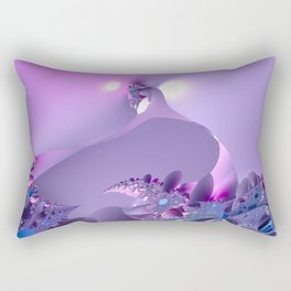 Stormy fractal waters and the lighthouse Rectangular Pillow