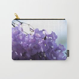Flowering Jacaranda Tree Carry-All Pouch