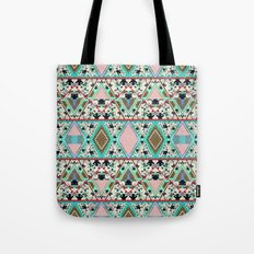 AQUA KALEIDOSCOPE  Tote Bag