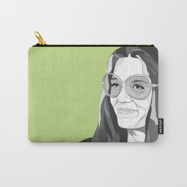 Gloria Steinem Carry-All Pouch