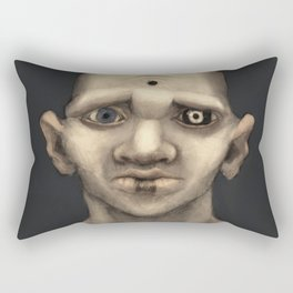 The Demonic Realm Rectangular Pillow