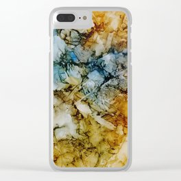 Sediment Clear iPhone Case