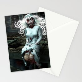 """""""Lacey Malice"""" by MiaSnow and Trin Stationery Cards"""