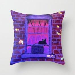 nightlight Throw Pillow