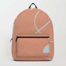 Line art meets icons Backpack