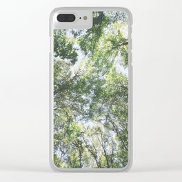 woodland 3428 Clear iPhone Case