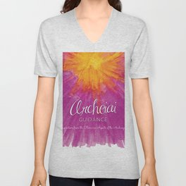 Archeiai Guidance: Inspirationsfrom the Feminine Aspects of the Archangels Unisex V-Neck