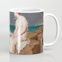 John William Waterhouse - Miranda Coffee Mug