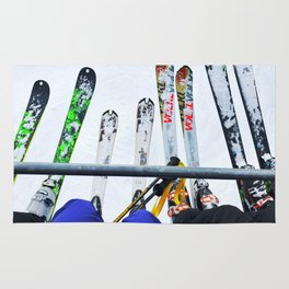 Ski All Day Rug