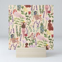 Aromatherapy Garden Mini Art Print