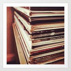 Vinyl Killed the iPod Art Print