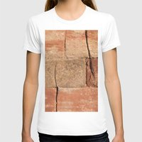 geology T-shirts featuring Ancient Sandstone Wall by Phil Smyth
