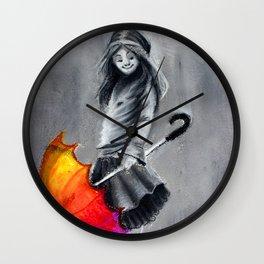 Umbrella Deux Wall Clock