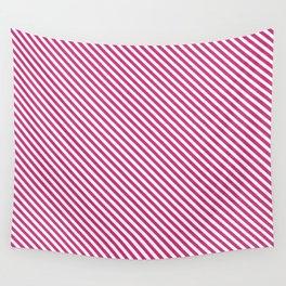 Pink Yarrow Stripe Wall Tapestry