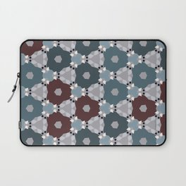 Kaleidoscope Flowers Winternight Laptop Sleeve