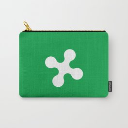 flag of lombardy Carry-All Pouch