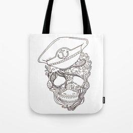 Captain Ocean Tote Bag