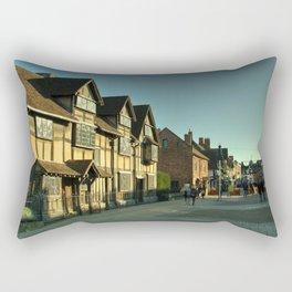 Shaky's House Rectangular Pillow